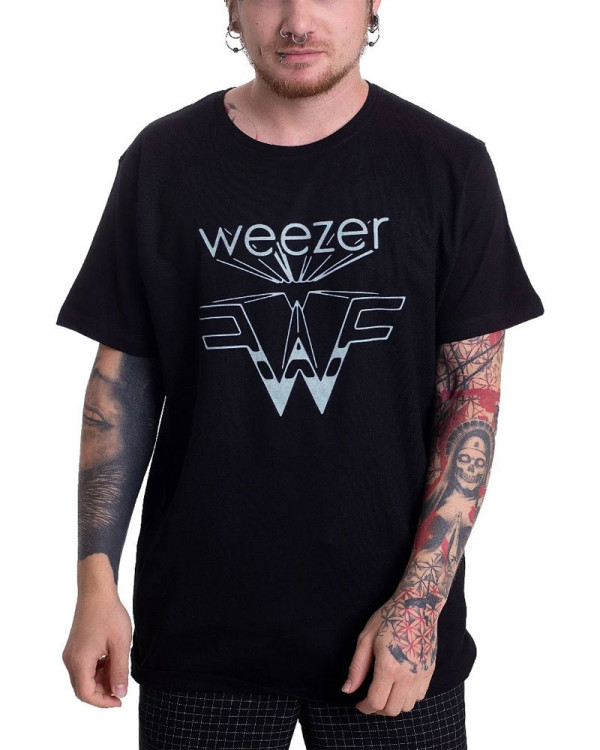 Weezer - Zoom Black Men's T-Shirt