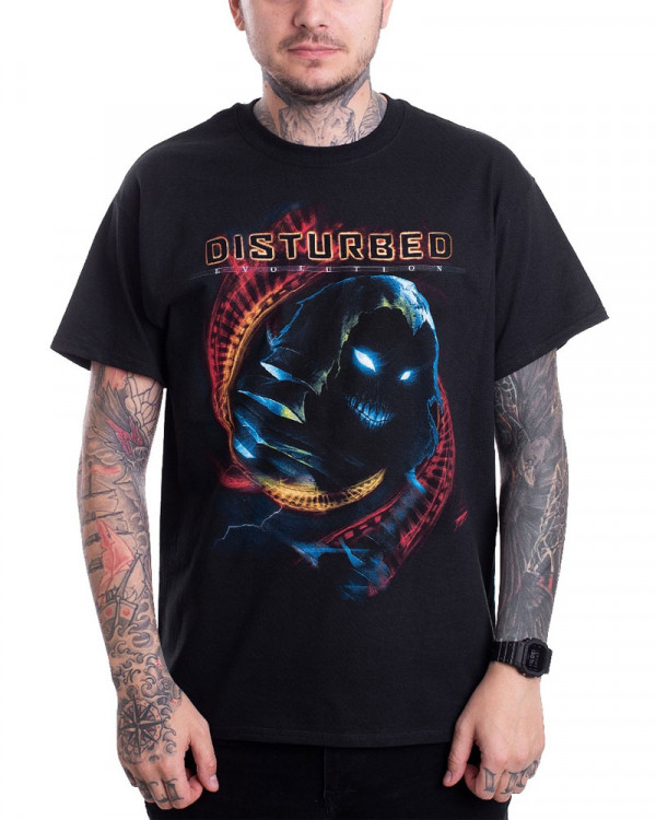 Disturbed - DNA Swirl Men's T-Shirt