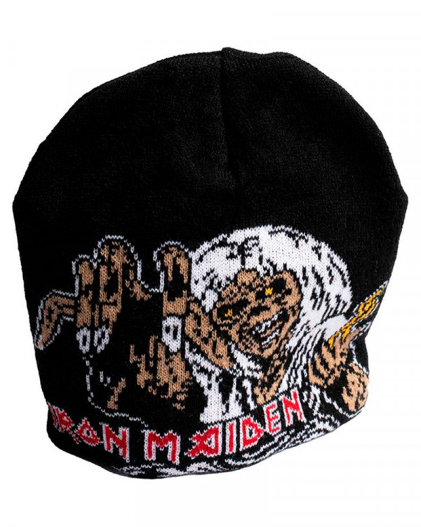 Iron Maiden - Number Of The Beast Knitted Beanie