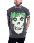 Misfits - Large Skull Vintage Men's T-Shirt