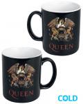 Queen - Crest Heat Changing Mug