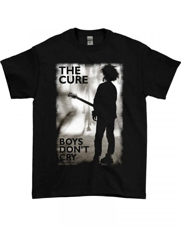 Cure - Boys Don't Cry Black Men's T-Shirt