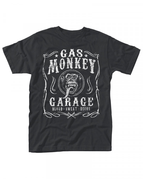 Gas Monkey Garage - Flourish Men's T-Shirt