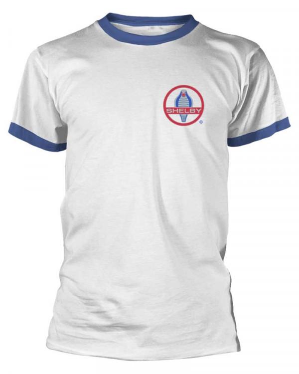 Shelby - Cobra Badge Tipped Men's T-Shirt