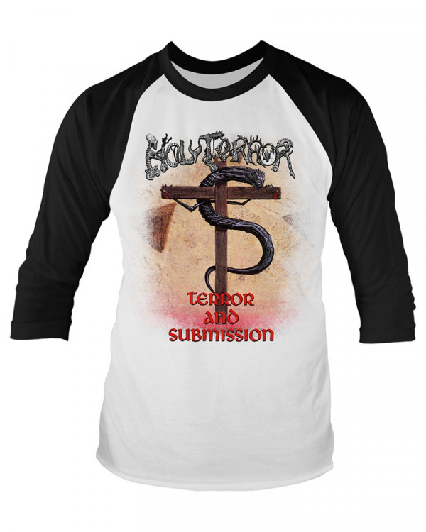 Holy Terror - Terror And Submission Men's Baseball Jersey
