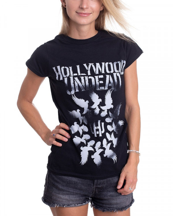 Hollywood Undead - Dove Grenade Spiral Women's T-Shirt