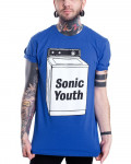 Sonic Youth - Washing Machine Royal Blue Men's T-Shirt