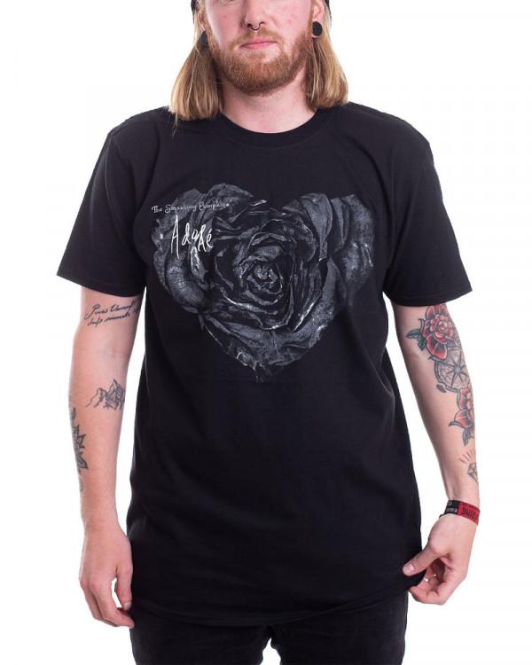 Smashing Pumpkins - Rose Black Men's T-Shirt