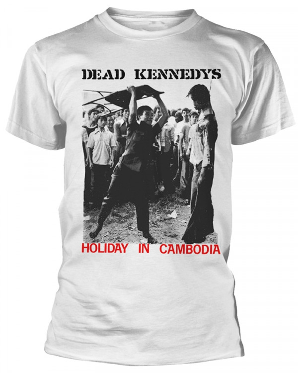 Dead Kennedys - Holiday In Cambodia White Men's T-Shirt