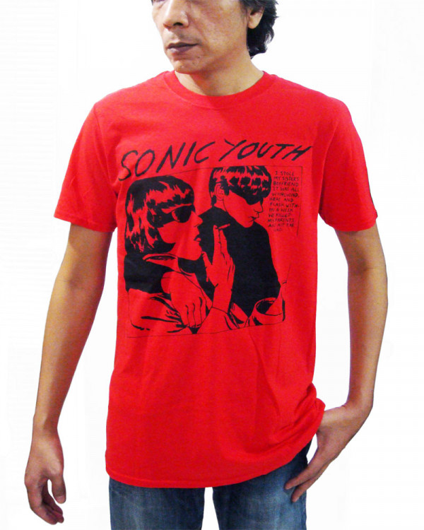 Sonic Youth - Goo Album Cover Red Men's T-Shirt