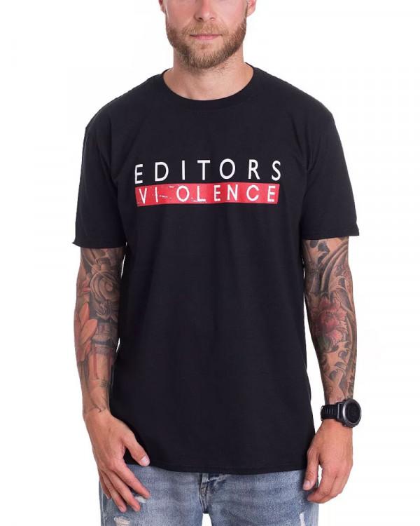 Editors - Violence Men's T-Shirt