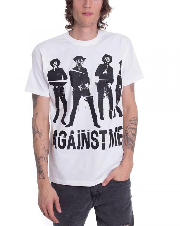 Against Me - Western White Men's T-Shirt