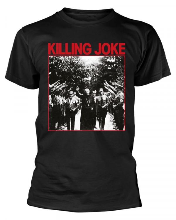Killing Joke - Pope Black Men's T-Shirt