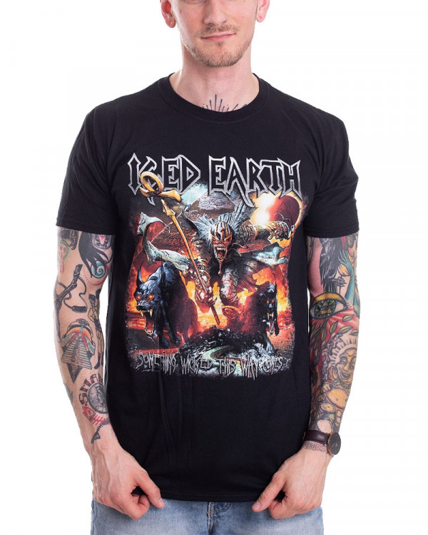 Iced Earth - Something Wicked Men's T-Shirt