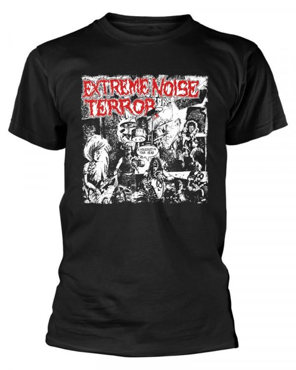 Extreme Noise Terror - Holocaust Black Men's T-Shirt