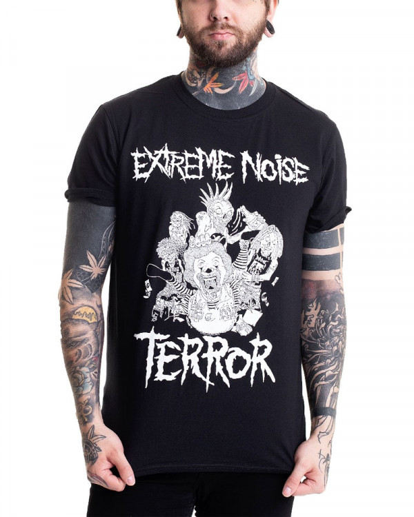 Extreme Noise Terror - In It For Life Men's T-Shirt