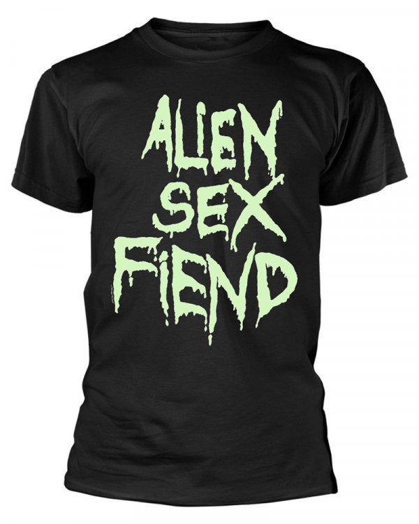 Alien Sex Fiend - Logo Glow Men's T-Shirt