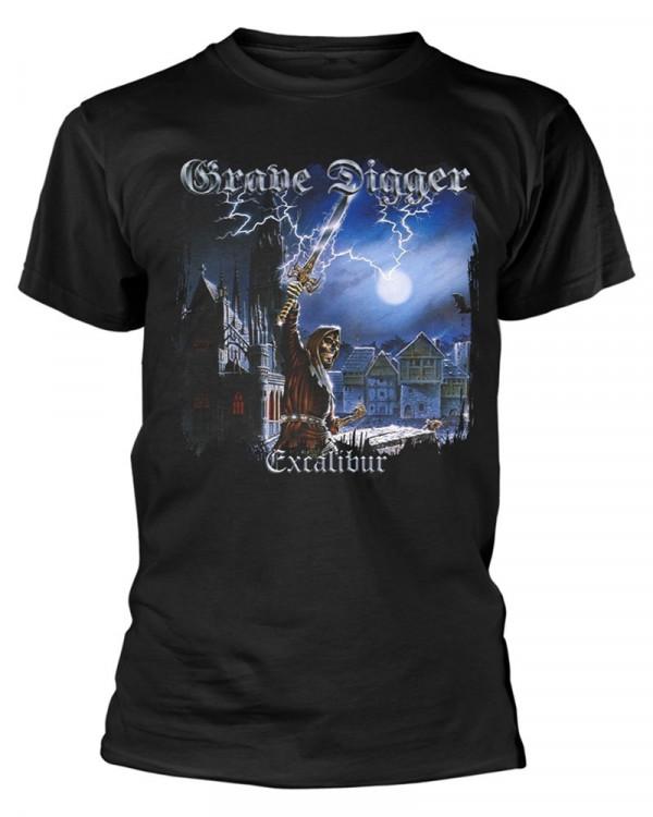 Grave Digger - Excalibur Black Men's T-Shirt