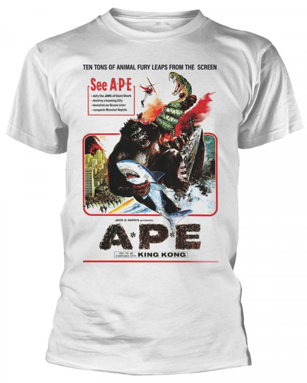 Ape (Plan 9) - Ape White Men's T-Shirt