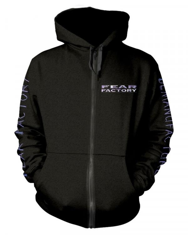 Fear Factory - Demanufacture Pocket Black Men's Zip Hoodie