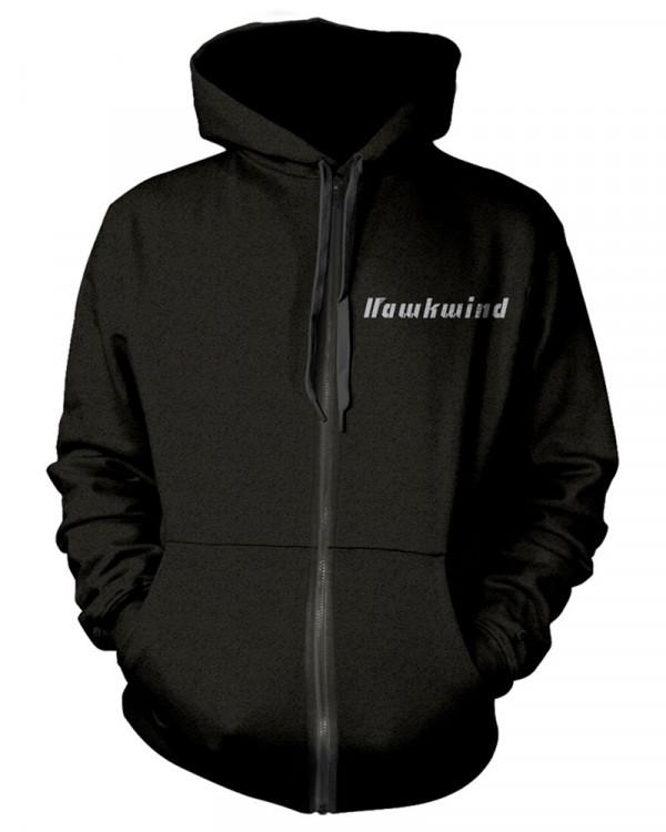 Hawkwind - Doremi Silver Men's Zip Hoodie