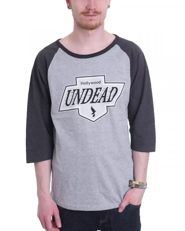 Hollywood Undead - L.A. Crest Men's Baseball Jersey