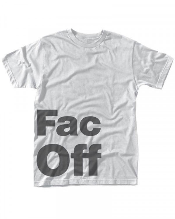 Factory 251 - Fac Off White Men's T-Shirt
