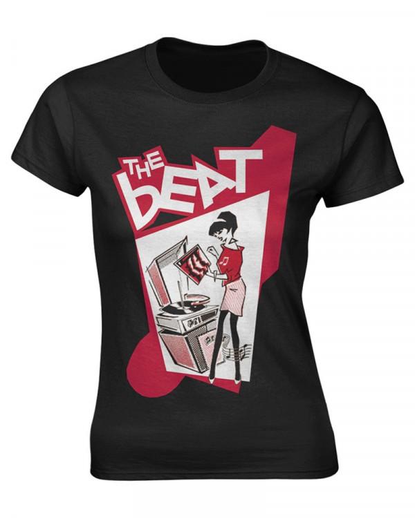 Beat - Record Player Girl Women's T-Shirt