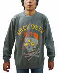 Neck Deep - Skulls Grey Men's Sweatshirt
