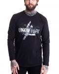 Linkin Park - Smoke Logo Black Men's Longsleeve T-Shirt