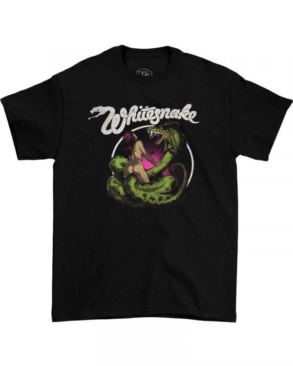 Whitesnake - Love Hunter Black Men's T-Shirt
