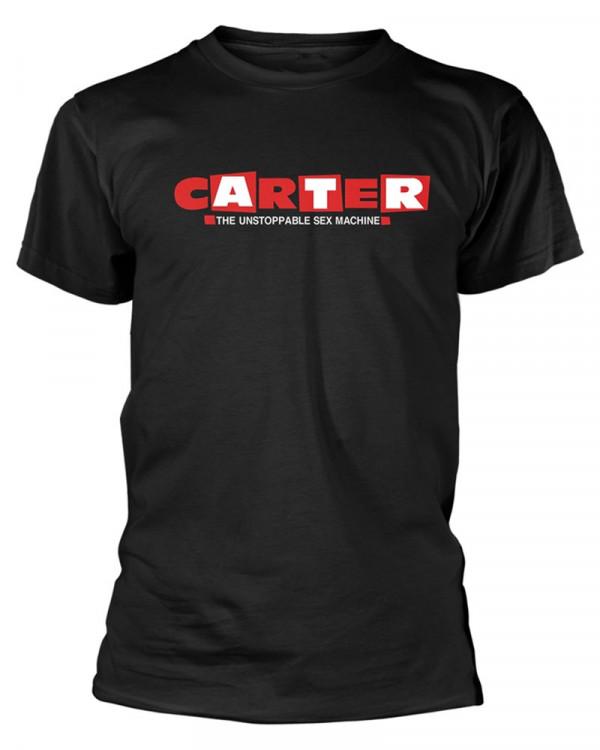 Carter The Unstoppable Sex Machine - Logo Black Men's T-Shirt