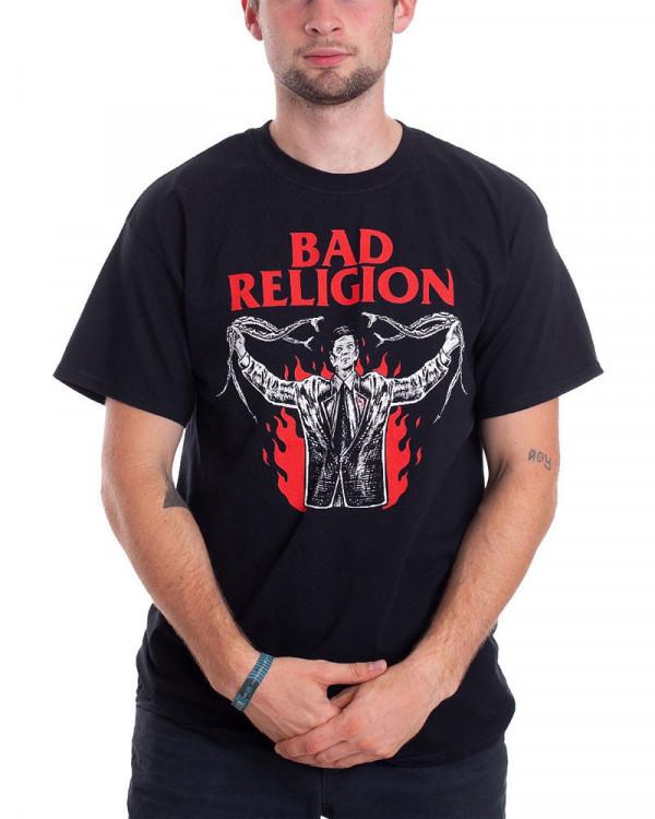 Bad Religion - Snake Preacher Black Men's T-Shirt