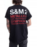 Metallica - S&M2 Scratch Cello Men's T-Shirt