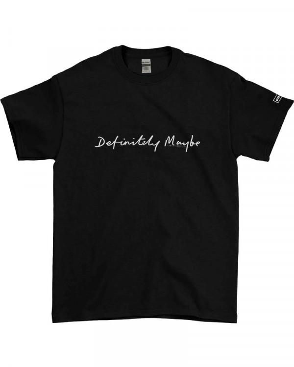 Oasis - Definitely Maybe Black Men's T-Shirt