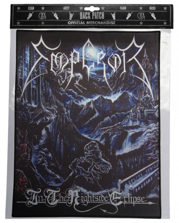 Emperor - Nightside Eclipse Back Patch