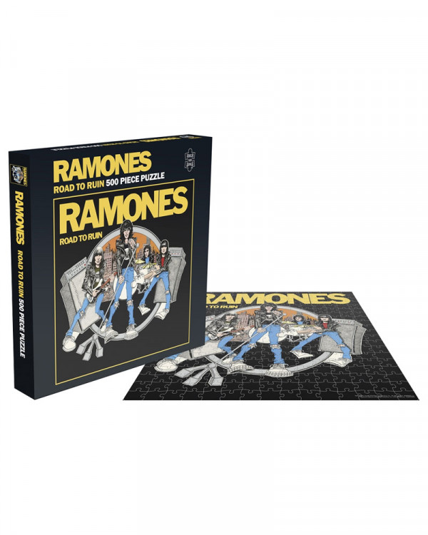 Ramones - Road To Ruin Jigsaw Puzzle