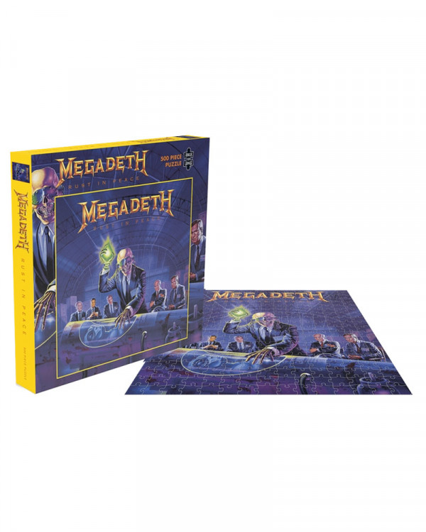 Megadeth - Rust In Peace Jigsaw Puzzle