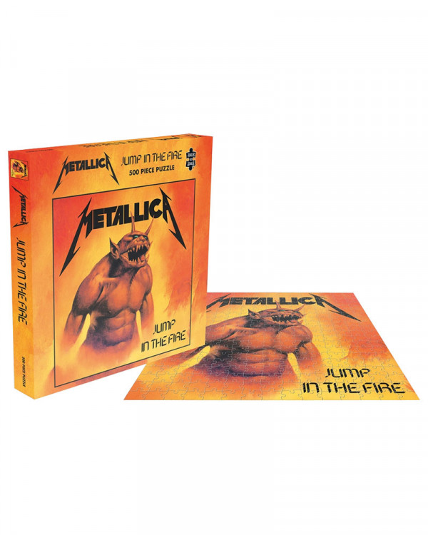 Metallica - Jump In The Fire Jigsaw Puzzle