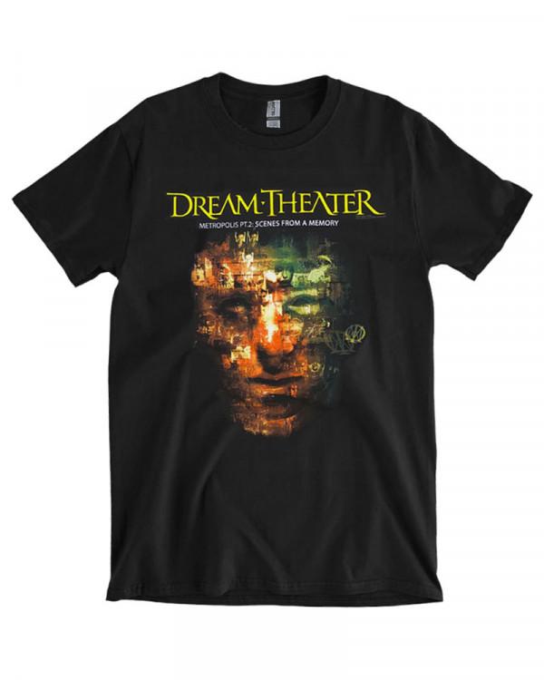 Dream Theater - Metropolis Black Men's T-Shirt