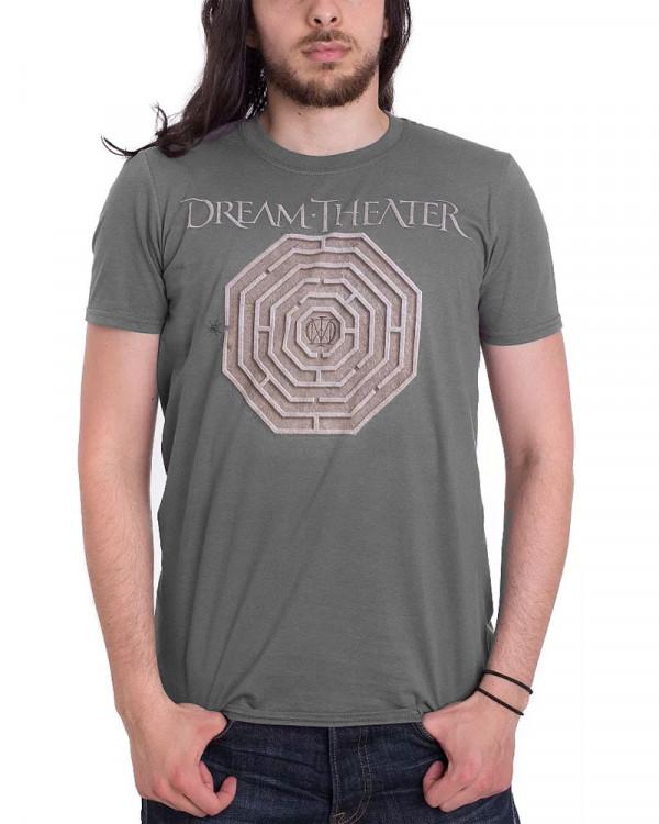 Dream Theater - Maze Charcoal Men's T-Shirt