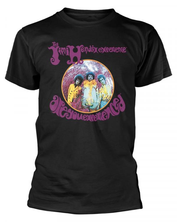 Jimi Hendrix - Are You Experienced Black Men's T-Shirt