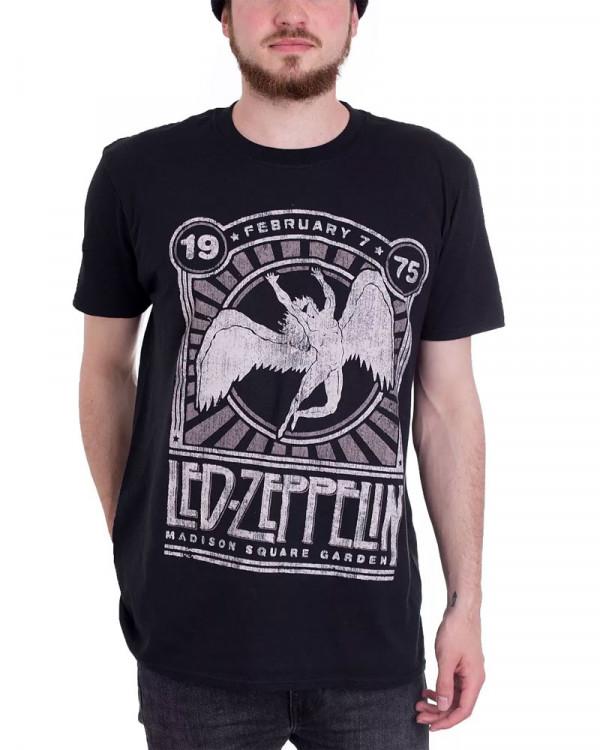 Led Zeppelin - Madison Square Garden 1975 Event Men's T-Shirt