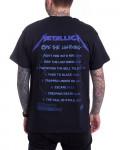 Metallica - Ride The Lightning Tracks Black Men's T-Shirt