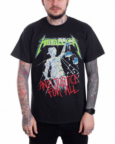 Metallica - And Justice For All Black Men's T-Shirt