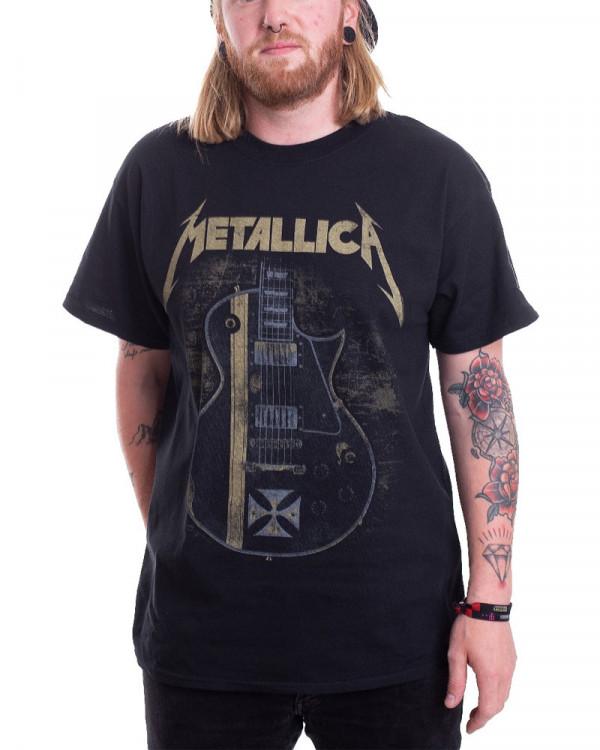 Metallica - Hetfield Iron Cross Men's T-Shirt