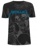 Metallica - Japanese Justice Black Men's T-Shirt