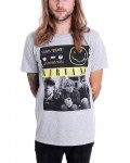 Nirvana - Bleach Tape Photo Heather Grey Men's T-Shirt