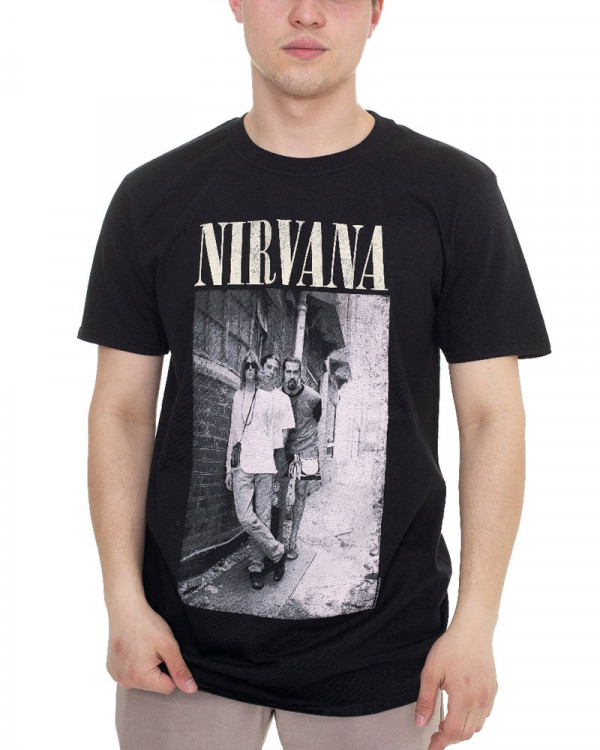 Nirvana - Alleyway Men's T-Shirt