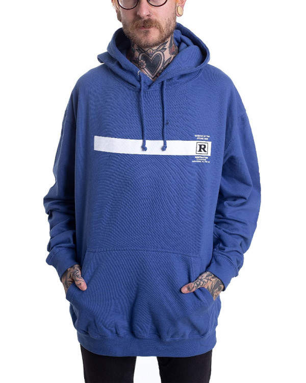 Queens Of The Stone Age - Rated R Blue Men's Pullover Hoodie